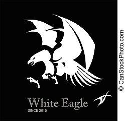 White eagle, Hawk.