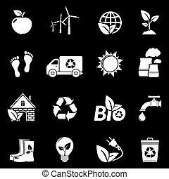 White Ecology Icons