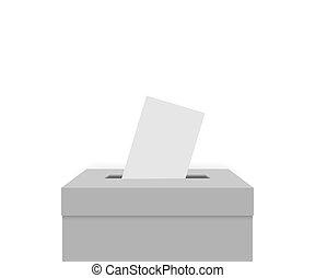 White election box