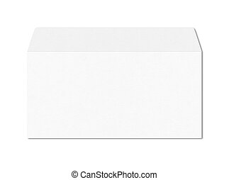 White enveloppe mockup template
