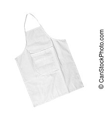 white female apron