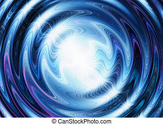 white flash on a blue waves backgrounds