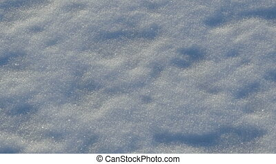 white fluffy snow abstract background texture, panorama