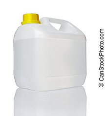 white gallon container with water o - close up of a white...