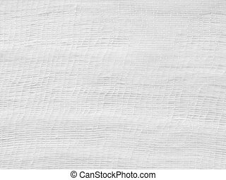white gauze background