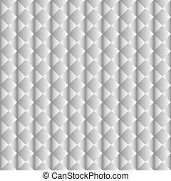 White geometric seamless pattern