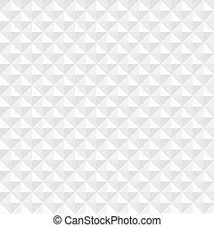 White geometric square seamless background