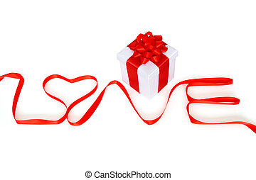 gift box with love