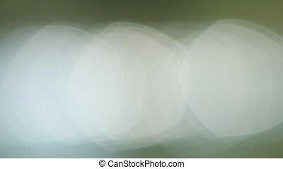 White Glimmer Bokeh