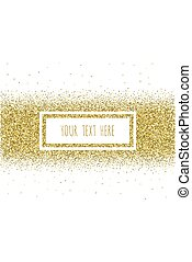 Glitter Background with space for your text. Vector illustration EPS 10