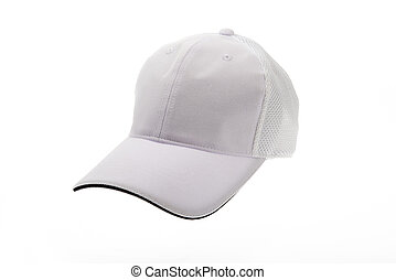 White golf cap for man or woman