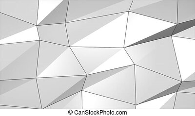 White Gray Smooth Abstract Plexus Abstract Network Technology Science lines and dots Loop Animation for Communications, Technology, Internet, social media Branding, Business Corporate Presentation.