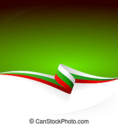 White green red