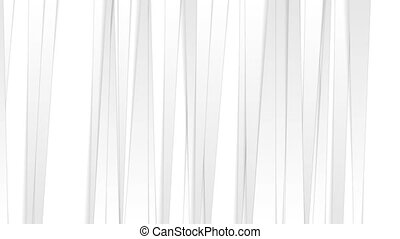 White grey corporate stripes abstract tech video animation -...