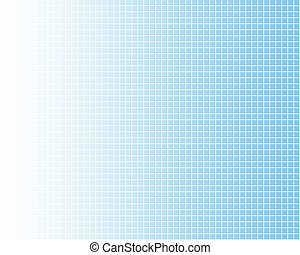 White grid on blue - White fine grid on blue, fading to...