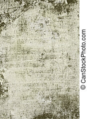 White grunge cement background with frame