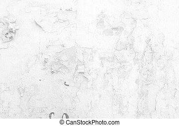 White Grunge Concrete Wall Texture Background.