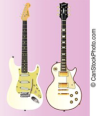 White Guitar Collection