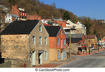 Harpers Ferry, West Virginia - White Hall Tavern, located on...