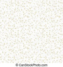White hand drawn pattern with random splatters - White hand...