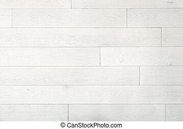 White hardwood maple floor