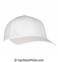 White Hat Isolated on White Background