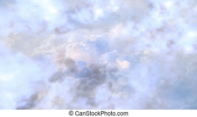 White heaven is a video in which you are flying through white clouds to sunlight. The calm and peaceful atmosphere of the flight will help you create the perfect fascinating video.