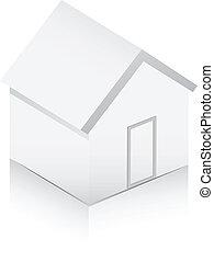 White home 3d