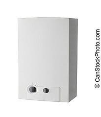 White home gas-fired boiler