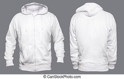 White Hoodie Mock up - Blank sweatshirt mock up template, ...