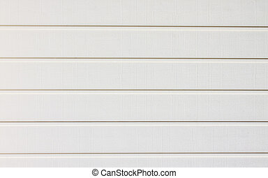 White horizontal siding panel for the background.