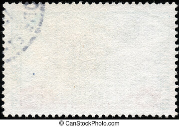 White horizontal stamp