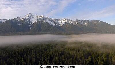 White Horse Mountain Cascade Range Boulder River Wilderness...