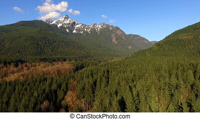 White Horse Mountain North Cascades Darrington Washington...