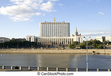 White House in the Moscow