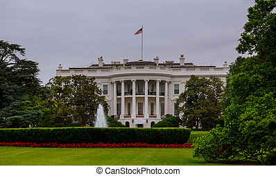 The White House in Washington DC, is the home President of the United States of America