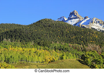 White House mountain, Mount Sneffels Range, Colorado