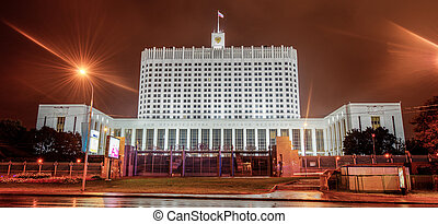 White House of Government in Russian Federation