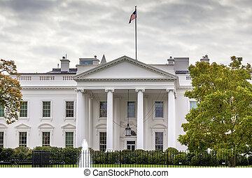 White House Pennsylvania Ave Washington DC