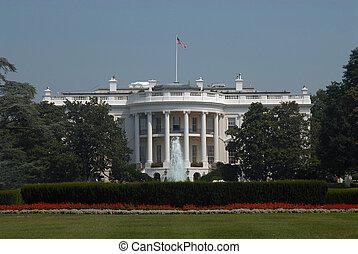 White House view, Washington D.C.