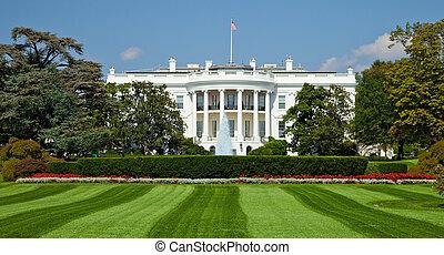 White House, Washington D.C. - The White House in Washington...