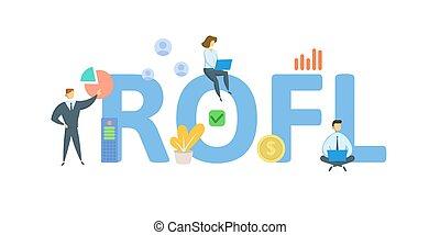 white., illustration., icons., rofl, keywords, vektor, lakás, fogalom, emberek, visszatérés, elszigetelt, leverage., anyagi