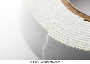 White industrial tape