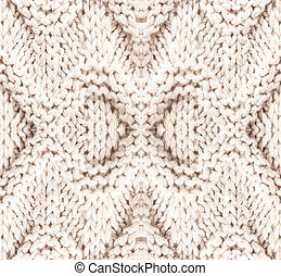 White knitting background texture. High resolution Knit woolen F