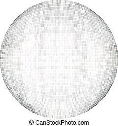 white labda, alatt, mózesi