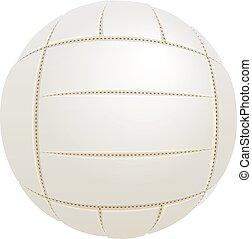 white labda, helyett, röplabda