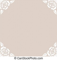 lace vintage background