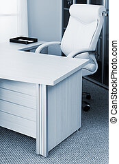 armchair in a modern office