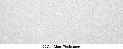 Texture of high-quality white leather. White leather background.