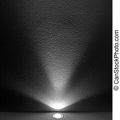 Light Beam from Projector - White Light Beam from Projector...